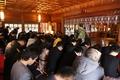 沢城みゆき、野沢雅子らがヒット祈願! 「ゲゲゲの鬼太郎」第6期キャストらが、水木しげる縁の布多天神社を訪問!!