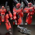 「機動戦士Zガンダム」MSVより、赤い機体色のガンキャノン・ディテクターが、RE/100で立体化!