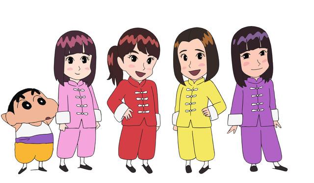 ももいろクローバーZが歌う「クレヨンしんちゃん」映画主題歌、今夜、初放送!ももクロがアニメになってエンディングに初登場!