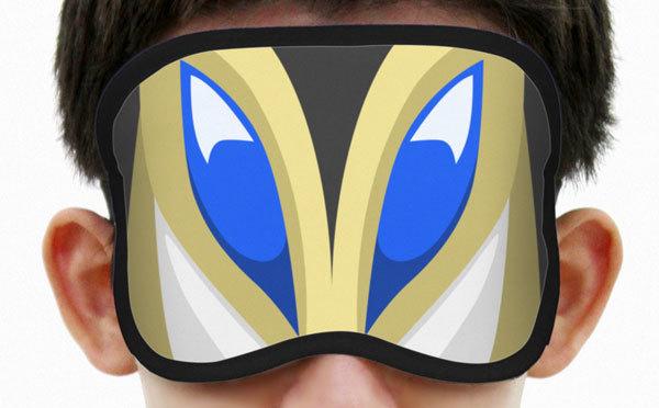 私は暴力が嫌いでね。「ウルトラマン シリーズ」から、メフィラス星人のアイマスクが登場!!