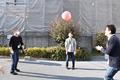 ハロのビーチボールが登場!! おじさんたちが集まって、ハロでバレーボールやってみた!