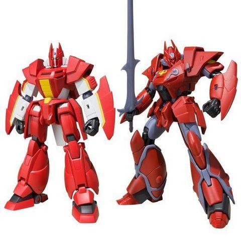 「機甲界ガリアン」「機甲界ガリアン 鉄の紋章」から、主人公機がスーパーミニプラで同時プラキット化!