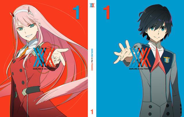 「ダーリン・イン・ザ・フランキス」、BD&DVD第1巻の田中将賀描き下ろしジャケットイラストを公開!