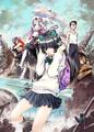 「フリクリ2」「フリクリ3」、キャラクター原案・貞本義行描き下ろし公開記念ビジュアル解禁!