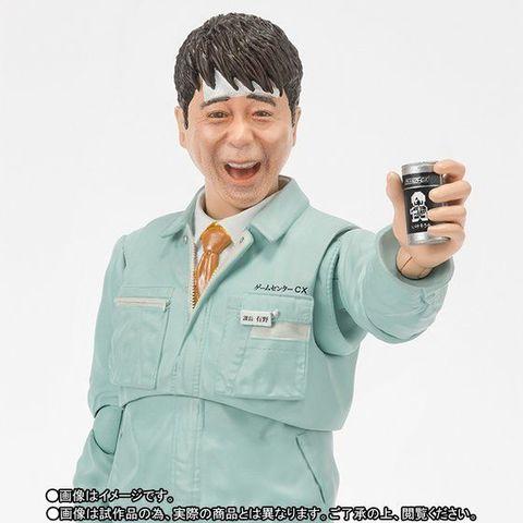 「有野課長」がフィギュア化!? よゐこ有野のTV番組「ゲームセンターCX」15周年を記念したフィギュアが登場!!