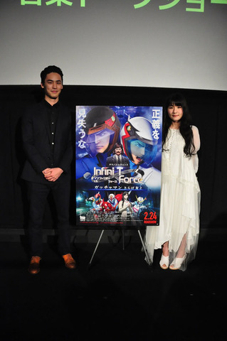 「劇場版Infini-T Force/ガッチャマン さらば友よ」、edda&やまだ豊登壇の音楽トークショー公式レポートが到着!