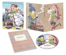 「ゆるキャン△」、BD&DVD第1巻が本日3月28日発売 ! LINEスタンプ&ちくわのBIGぬいぐるみ情報も到着