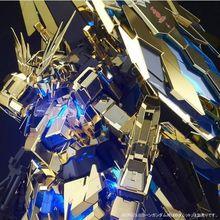 「機動戦士ガンダムUC」MSVより、2基のアームド・アーマーDEを装備したユニコーンガンダム3号機 フェネクスがPGで登場!!