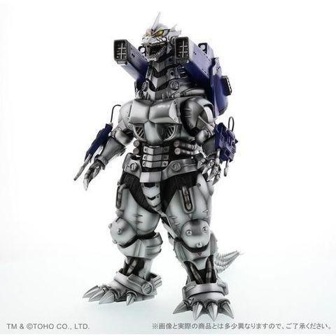 「ゴジラ×メカゴジラ」に登場した「3式機龍(2002版)重武装型」が発光ギミック内蔵の限定仕様で登場