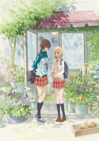 6月9日公開のアニメ映画「あさがおと加瀬さん。」、主題歌シングル&サントラなど関連CD3枚が6月6日に同時発売決定!