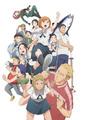 「ちおちゃんの通学路」、キャラ全員集合のメインビジュアル公開! OP&ED情報も発表に!!