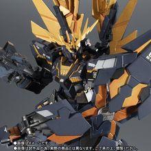 「機動戦士ガンダムUC」より、ROBOT魂のバンシィ・ノルン(デストロイ・モード)が新たな塗装、マーキングで再登場!!