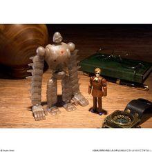 「目が、目がぁ~~~っ!」も再現可能なフル可動のムスカがロボット兵とセットで登場!!