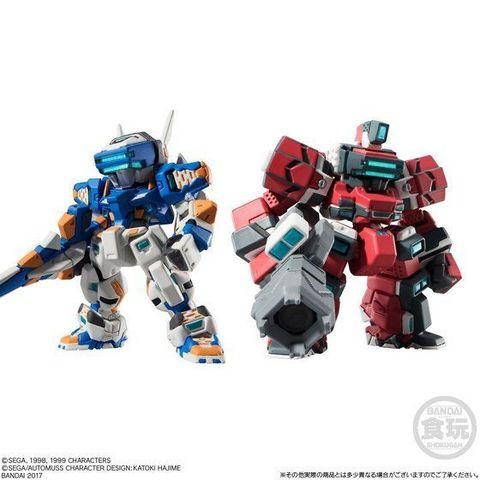 「電脳戦機バーチャロン オラトリオタングラム」から、ライデンとテムジンがコンバージメカニクスシリーズに登場