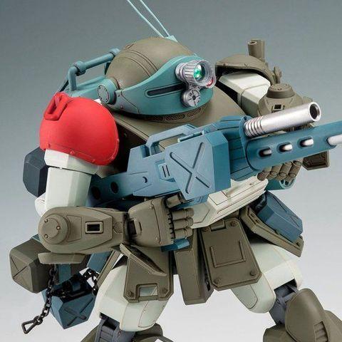 「装甲騎兵ボトムズ」より、スコープドッグがパーツの選択でキリコ機・ムーザ機の再現が可能な選択式キットで登場!