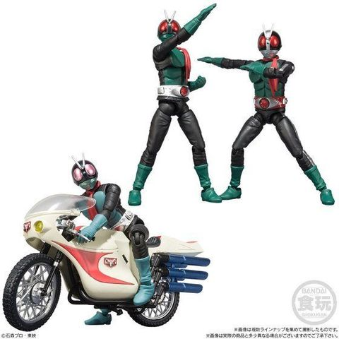 バイクがラインアップに加わり、仮面ライダーも造形・可動機構がパワーアップした新たなシリーズ「SHODO-X」登場!!