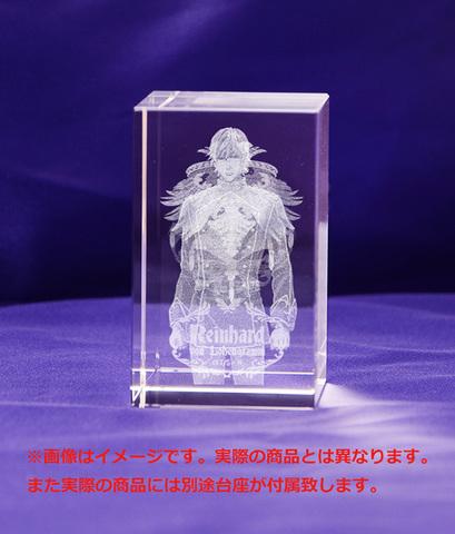 「銀河英雄伝説 Die Neue These」第1巻~第3巻の限定購入特典「3Dクリスタル(ラインハルト)」画像が公開に!