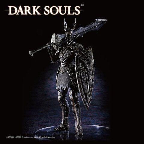 「覚悟はできたか…?」「慌てるんじゃない!」「ダークソウル スカルプトコレクション」に、第3弾「黒騎士」が登場!
