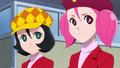 「Cutie Honey Universe」、第9話のあらすじと、囚われの夏子や苦しげなタランチュラパンサーが映し出されたカットが到着