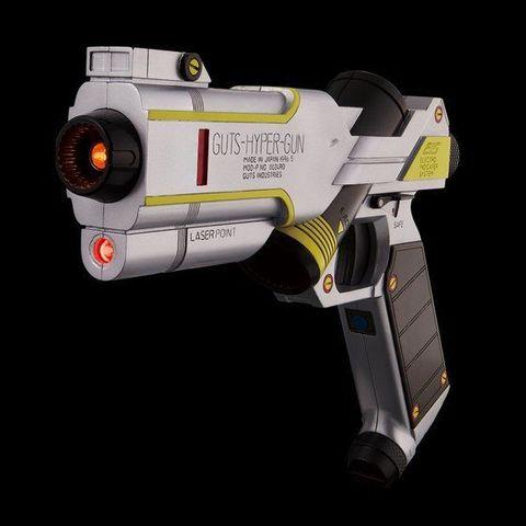 「ウルトラマンティガ」より、GUTSの隊員銃が大人仕様で登場! 放送当時の玩具にはなかった仕様追加で再現度アップ!