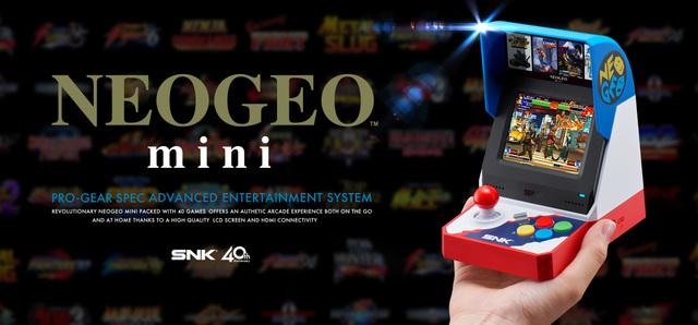 NEOGEOの名作40タイトルを収録したゲーム機「NEOGEO mini」、今夏発売決定! PV&公式サイトも公開に