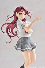 「ラブライブ!サンシャイン!!」BDジャケットフィギュア第3弾、風になびく髪とスカート、指先まで細かく再現された桜内梨子登場