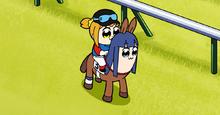 JRA×ポプテピピックのWebコンテンツ「ポプテピ記念」より、完全新作アニメ「ポプテピ記念」が公開!