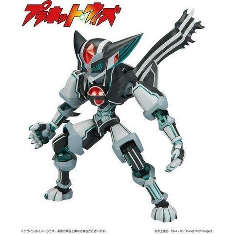 TVアニメ「プラネット・ウィズ」より、主人公・黒井宗矢と先生が「念力合体」ロボットの可動フィギュアが登場!