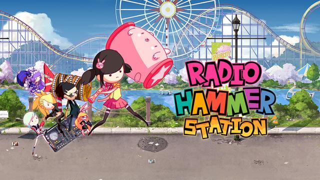 PS4/PS Vita/Switch向けリズムアクション「ラジオハンマーステーション」、7月12日配信! PS4/PS Vita版にはOSTセットも