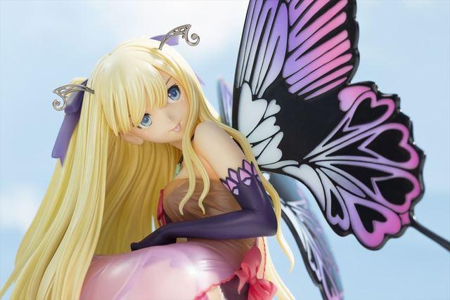 「Tony'sヒロインコレクション」より、誘惑されそうなボディラインの「紫陽花の妖精 アナベル」が茶目っ気たっぷりに立体化!