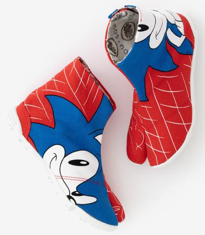 「ソニック・ザ・ヘッジホッグ」のコラボ足袋が8月上旬発売! セガゲームス×立命館大学の産学連携プロジェクト