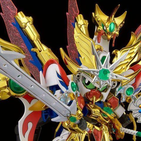「七人の超将軍編」の大将軍である飛駆鳥大将軍が、メッキやクリアラメ等の豪華絢爛な仕様で、待望のLEGENDBB戦士化!
