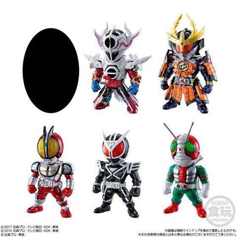 「CONVERGE KAMEN RIDER」第12弾は、仮面ライダービルド、555、鎧武、そして昭和ライダーからV3が登場!!