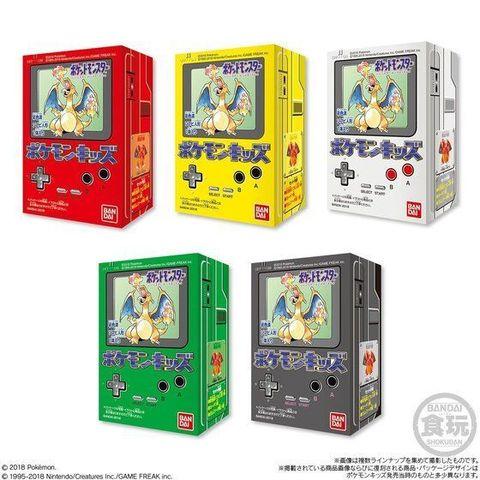 1996年10月に発売された初代「ポケモンキッズ」の復刻弾が登場!パッケージは当時のオマージュで5色展開!