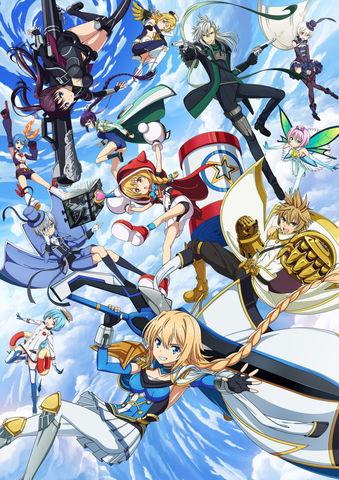 TVアニメ「叛逆性ミリオンアーサー」10月よりTOKYO MXほかにて放送開始! 新キービジュアル公開、追加キャストの発表も