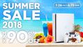 PS4の人気タイトルが最大90%OFF! PS Storeにて「SUMMER SALE 2018」を実施中!