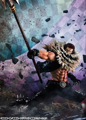 「ONE PIECE」から、ビッグ・マム海賊団の誇る最高幹部「シャーロット・カタクリ」が登場!!