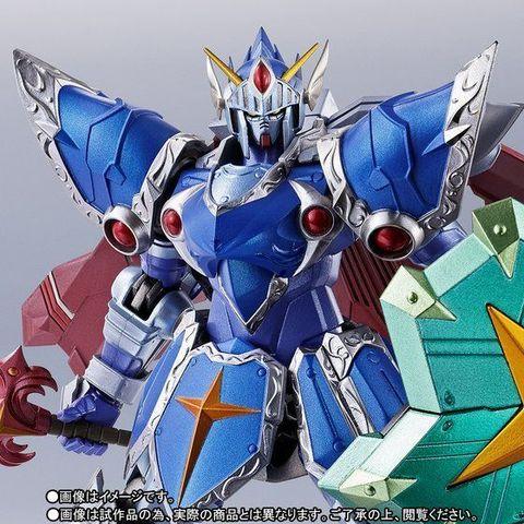 「SDガンダム外伝」から、フルアーマー騎士ガンダムがリアルタイプでMETAL ROBOT魂に降臨! 三種の神器を装備した雄姿を体現!