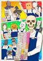 「ガイコツ書店員 本田さん」アニメ新ビジュアル&書店員キャスト総勢12名一挙大解禁! OP&ED主題歌も決定!!
