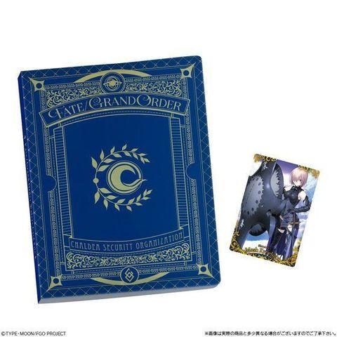 「Fate/Grand Order」ウエハース専用のコレクションカードファイルが、SRカード付きで登場!