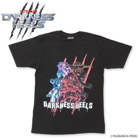 「ウルトラマンシリーズ」よりダークヒーローが集合した「ダークネスヒールズ」柄のTシャツが登場!!