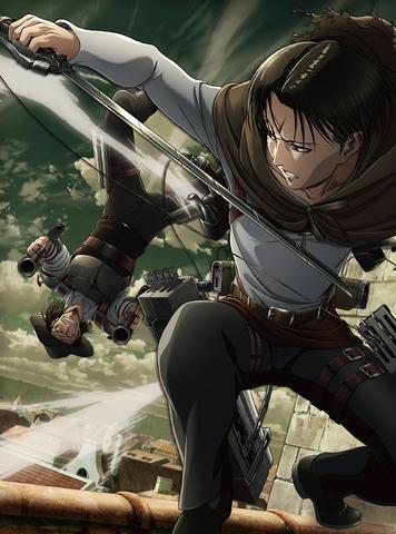 TVアニメ「進撃の巨人」Season3 Blu-ray&DVD第1巻ジャケット公開! 第1巻の絵柄はリヴァイとケニー!