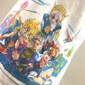 30周年を迎える「魔神英雄伝ワタル」から、芦田豊雄氏のイラストを現代の技術でフルカラープリントしたTシャツ3種が登場!!