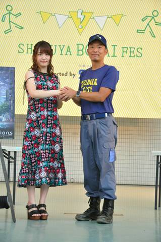 "TVアニメ「revisions リヴィジョンズ」、小松未可子が""災害へ備えろ""トークイベントに登場"