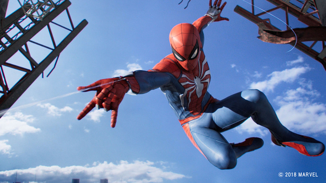 """本日9月7日発売! PS4「Marvel's Spider-Man」発売記念トレーラー""""挫けぬ心""""を公開!"""