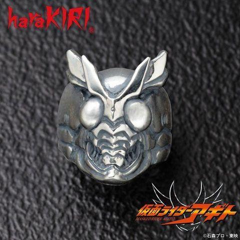 「仮面ライダーアギト」より、アナザーアギトの顔をリアルに具現化した、silver925製リングが登場!!