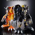 「デジモンアドベンチャー02」でも敵キャラとして登場し、作品を盛り上げたブラックウォーグレイモンが超進化魂シリーズに登場!