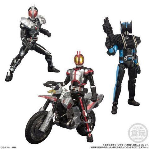 「SHODO-X」シリーズ第2弾は平成ライダー「仮面ライダー555」も登場! ファイズ専用バイク「オートバジン」もラインアップ!!