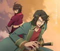 TVアニメ「BAKUMATSU」、OP&EDテーマのジャケットデザインが公開!