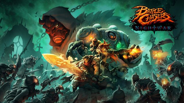 Switch用RPG「Battle Chasers: Nightwar」、10月4日配信決定! 人気アメコミが原作のターン制RPG